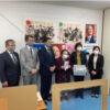 長崎県看護連盟へ1,000枚寄与
