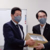 長崎県へ200枚寄与